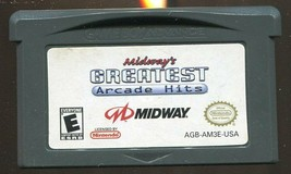 Midway's Greatest Arcade Hits (Nintendo Game Boy Advance, 2007) CARTRIDG... - $2.96
