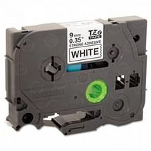 "Brother OEM TZeS221 Black on White Tape (3/8"") - $21.23"