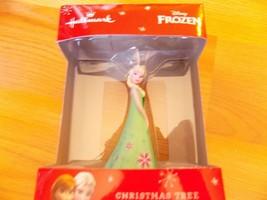 Hallmark Disney Frozen Fever Queen Elsa 2015 Christmas Holiday Ornament New - $18.00