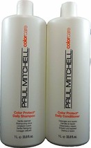 Paul Mitchell Color Protect Shampoo and Conditioner Liters DUO Special! - $35.99