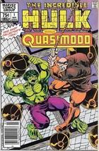 Incredible Hulk vs Quasimodo Comic Book #1 Canadian Variant 1983 VFN/NEA... - $7.38