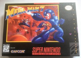 Mega Man 7 (Super Nintendo, SNES) - Reproduction Video Game Cartridge with Unive - $39.99