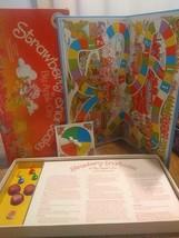 80s Strawberry Shortcake In Big Apple City Game Parker Brothers Vintage Complete - $9.74