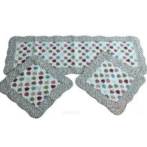 Set of 3 Lovely Cotton seat cushions/General Car Cushion,The Color of Leaves
