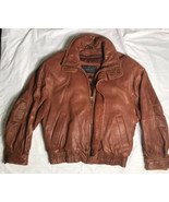 Vintage Studio Andrew Marc for Wilson's Men's Brown Leather Jacket Size ... - $94.05
