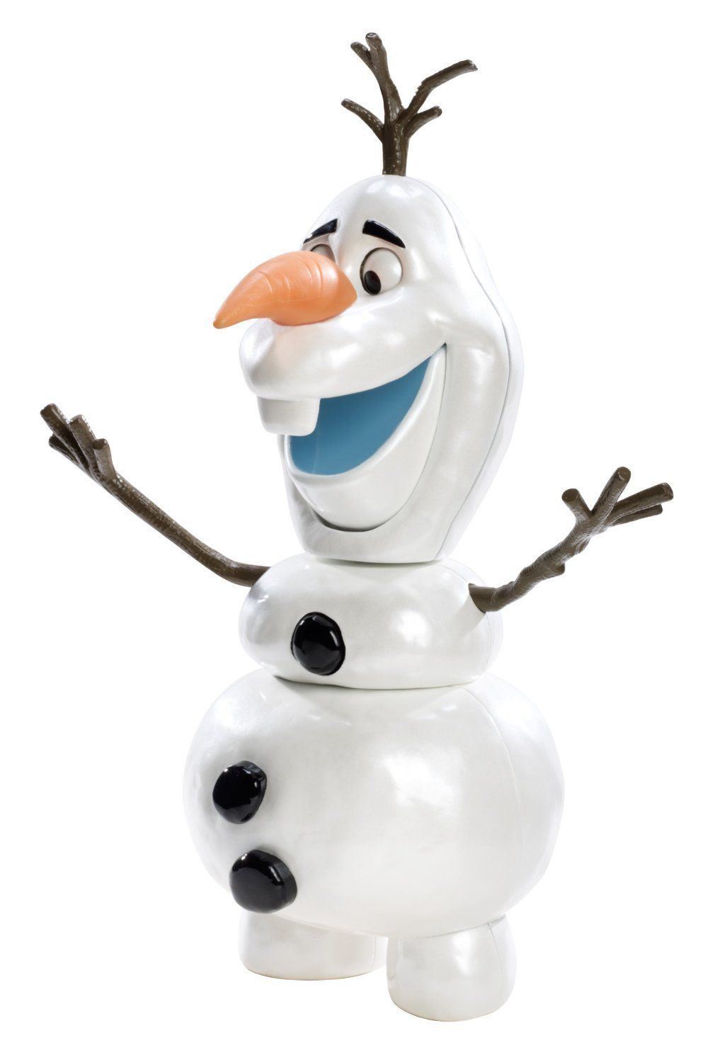 Cute Disney Frozen Olaf Doll 9 Tall w/Different Facial Expressions, Mattel 3+