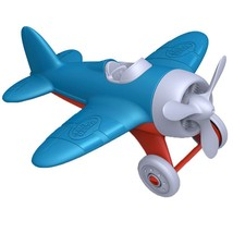 Green Toys Airplane, Blue Top Quality ORIGINAL By Green Toys - $14.73