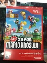 New Super Mario Bros NINTENDO WII 2009 GAME - Complete CIB - TESTED - Fa... - $29.65