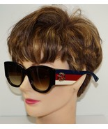 NEW GUCCI HAVANA STRIPES GOLD GG SUNGLASSES GG 0276S 002 w/CASE - ITALY ... - $261.79