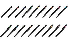 Pentel Arts XGFL Calligraphy Fude Color Brush Refill (18 Colors) - Assorted - $36.43