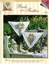 Birds of a Feather Stitch World Leaflet #05-102L Birdhouses English Flowers - $12.95