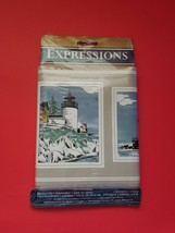 Vintage 90s Expressions Lighthouse TBC90001 Wallpaper Border 5 Yards Sealed - $8.86