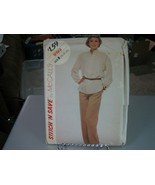 McCall's Stitch'n Save 9193 Misses Pullover Top & Pants Pattern - Size 1... - $7.91