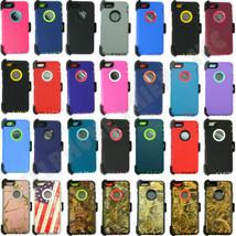 Großhandel-menge für Apple Iphone 5/5S / Se Schutzhülle (Kein Gürtelclip) - $9.45+