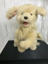 "2004 Hasbro Fur Real Scamps My Playful Pup 14"" Sitting  Does Not Work Pa... - $17.65"