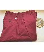 Alabama Crimson Tide NCAA SEC Men Dockers Game Day Red Chino Pants W33 ... - $59.39