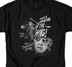 The Twilight Zone t-shirt Someone on a wing retro sci-fi TV graphic tee CBS1002 image 2