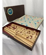 Vintage SCRABBLE board Game in Original Box, 1953 - $33.24