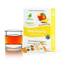 Premium 100% Natural Mango Organic Green Tea Sugar Free (10 Sachests) - $10.84