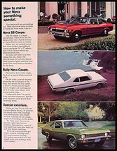 1972 Chevrolet Nova Orig Brochure SS Rally Coupe Sedan - $7.12
