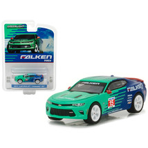 2017 Chevrolet Camaro SS Falken Tire Hobby Exclusive 1/64 Diecast Model Car by G - $12.46