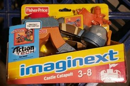 Fisher Price Imaginext Eagle Talon Castle catapult action tech weapon new toy - $89.99