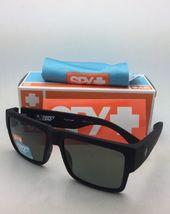 Polarisiert Spy Optic Sonnenbrille Cyrus Weich Matt Schwarz Rahmen W / Happy image 12