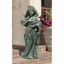 Personification of Gaia Mother Nature GARDEN STATUE Sculpture Collectabl... - $77.95