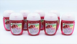 x8 Bath and Body Works Frosted Cranberry Round PocketBac Hand Gel - $18.99