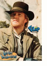 Kiefer Sutherland Wil Smith teen magazine pinup clipping western time Bop