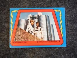 Buck Rogers 1979 Topps Trading Card Sticker # 3 - $2.69
