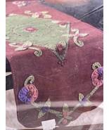 Buscilla Felt Table Runner Kit Pansy Rebekah Meier 85079 Flower 14.5 X 38 - $36.75