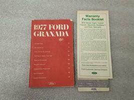 1977 Ford Granada Owners Manual 15886 - $16.82