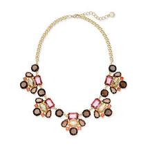 Charter Club Gold-Tone Multi-Stone Statement Necklace - $14.99