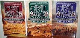 The Civil War: A Narrative (3 Vol. Set) [Paperback] FOOTE, SHELBY - $41.99