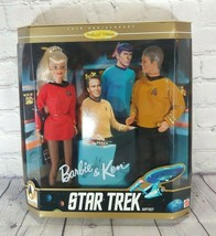 BARBIE & KEN 1996 STAR TREK 30th Anniversary Giftset ~ Collector's Editi... - $24.70