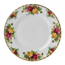 "Salad Plates 8"" Old Country Roses Royal Albert Set Of 4 New - $89.09"