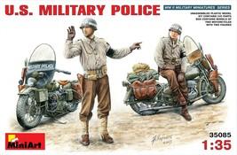 Miniart Models - 35085 - U.S. Military Police - 1/35 - $34.99