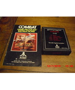 Combat (Atari 2600, 1977) - $5.99