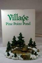 "Dept 56 1995 Pine Point Pond Village Accessory 9 1/4"" - $20.69"