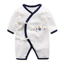 Cotton Baby Long Sleeve Baby Clothes Newborn Baby Clothes [J] - £15.31 GBP