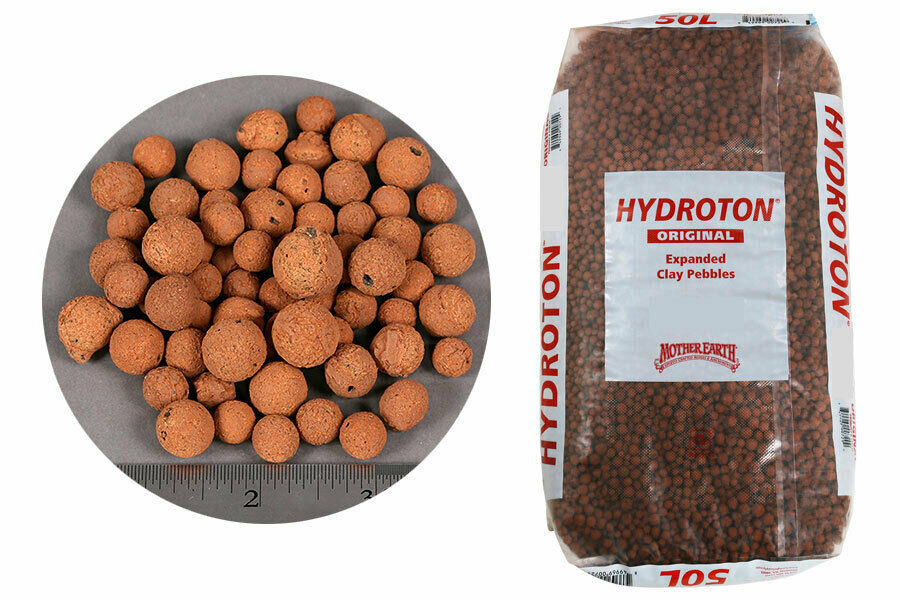 ORIGINAL Hydroton LECA Clay Pebbles for Hydrponics or Orchids 12 Liters