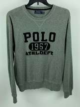 Polo Ralph Lauren Men's Graphic Sweater Gray L - $54.44