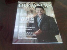 Opera News Magazine September 2012 - That Touch of Class- Piotr Beczala - $3.74