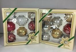 Vintage Pyramid Christmas Ornaments - $18.06