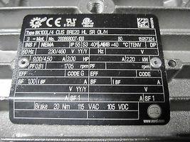 Nord SK9012.1AZSH.IEC100 SK100L/4CUSBRE20HLSR0L/H Gearmotor New image 6