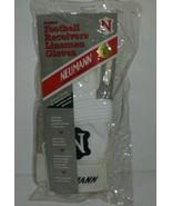 Neumann Padded Football Receivers Lineman Sports White Black Gloves Size Large - $13.80
