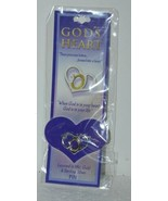 DM Production GD SPIN Gods Heart Small 1 Inch Pin Gold Sterling Silver L... - $7.98