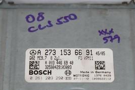 07 Mercedes W219 CLS550 V8 Engine Computer Ignition FOB ECU EIS ISL Married Set image 2