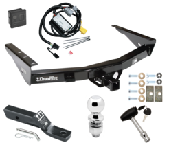 """Trailer Tow Hitch For 01-02 Toyota Tundra Deluxe Package Wiring 2"""" Ball ... - $249.42"""